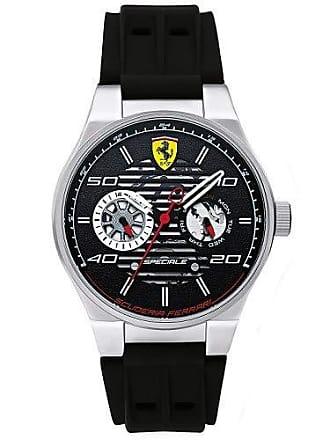caf172486f2 Ferrari Relógio Scuderia Ferrari Masculino Borracha Preta - 830429
