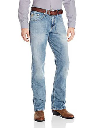 Cinch Mens Dooley Relaxed Fit Jean, Medium Stone Wash, 34W x 34L