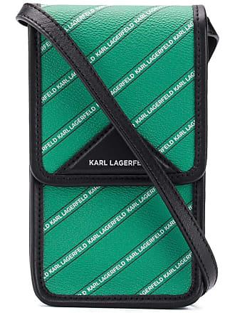 Karl Lagerfeld Bolsa mini com logo - Verde
