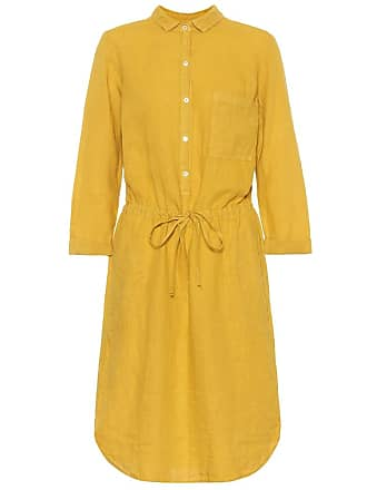 Velvet Tristana linen shirt dress