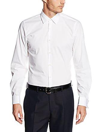 Strellson 11 Silas UMA 10000206, Chemise Business Homme, Blanc (Weiß), ... 599c21b072a