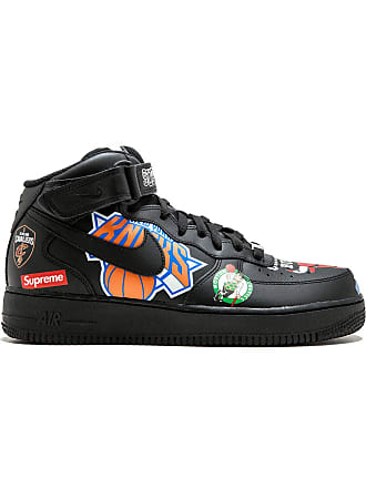 SUPREME Air Force 1 Mid 07 / Nike x Supreme sneakers - Black