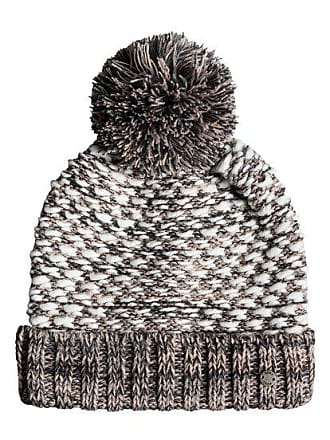 9048e85d30de Roxy Corner Of The Fire - Bonnet en tricot pour Femme - Gris - Roxy