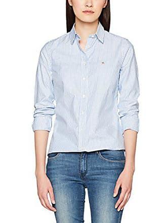 GANT Stretch Oxford Banker Shirt, Chemise Femme, Bleu (Nautical Blue 422), a56fbe011f26