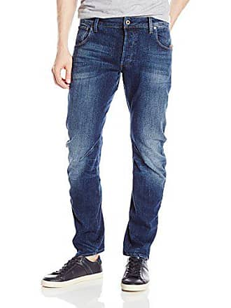 G-Star Mens Arc Slim Cerro Stretch Jean Medium Aged, 33W x 32L