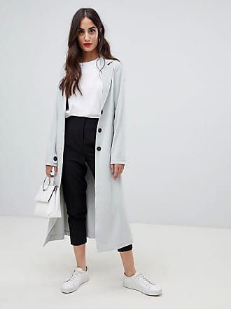 Y.A.S tie waist duster coat - Gray