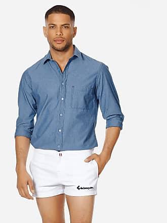 Vilebrequin Men Ready to Wear - Men White 70s Shorts - BERMUDA - STARTER - White - M - Vilebrequin