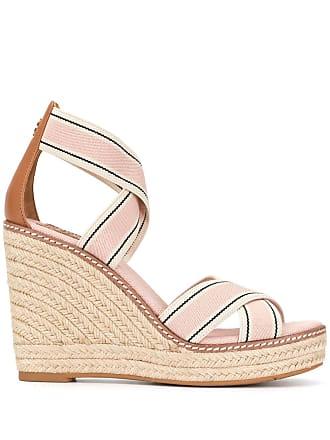 6e8b2ef1ad78 Tory Burch Frieda wedged sandals - Pink