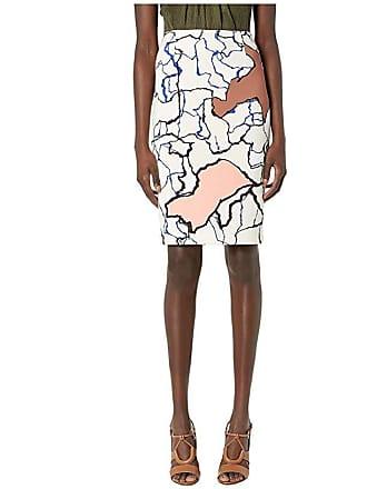Yigal AzrouËl Printed Scuba Skirt (Multi) Womens Skirt