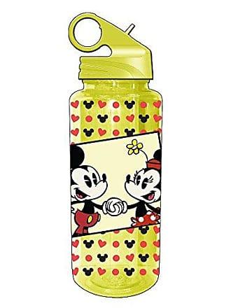 Disney Silver Buffalo DL1164 Disney Mickey and Minnie Mouse Tritan Water Bottle, 20-Ounces