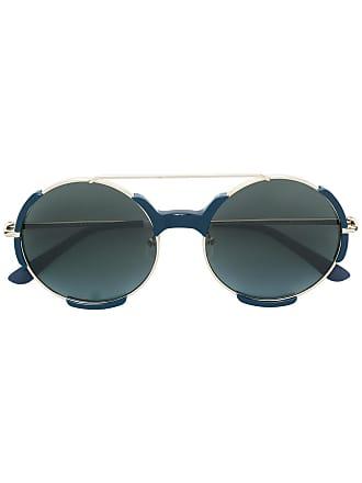 Orlebar Brown Óculos de sol arredondado - Azul