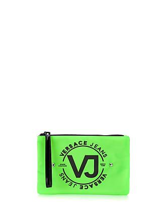 Versace Jeans Couture Necessaire com logo - Verde