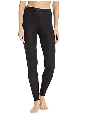 Icebreaker 175 Everyday Merino Base Layer Leggings (Black) Womens Casual Pants