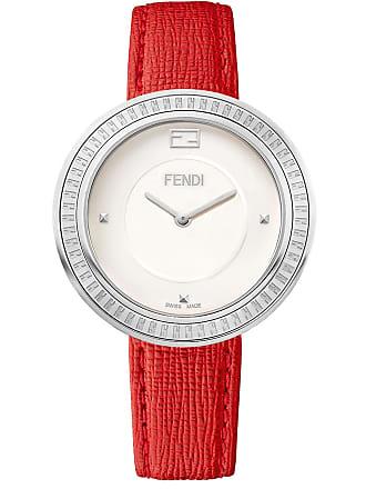 8a17cfa190ac Fendi Womens Fendi My Way Genuine Fox Fur Embossed Leather Strap Watch, 36mm