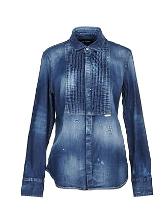 47ce91ebfb Dsquared2® Denim Blouses − Sale  up to −62%