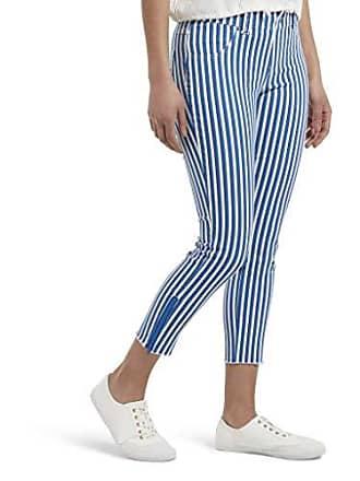 Hue Womens Ultra Soft Denim Jean Capri Leggings, Electric Blue, Extra Small