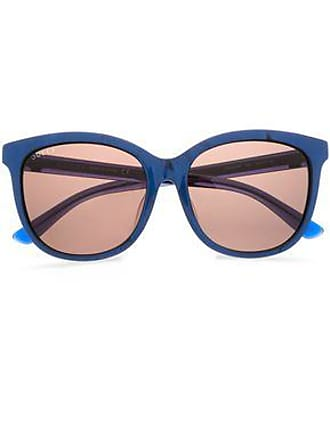 2444dd166006d Gucci Gucci Woman D-frame Printed Acetate Sunglasses Royal Blue Size
