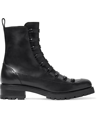 Rupert Sanderson Swing Leather Ankle Boots - Black