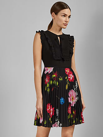 fa8e8e70ad3e1a Ted Baker Berry Sundae Tie Neck Mini Dress