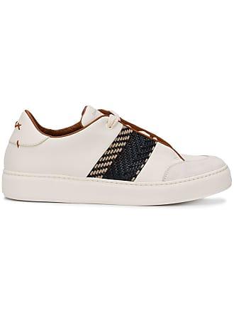 Ermenegildo Zegna Sneakers Tiziano - Di Colore Bianco 090e66e9443