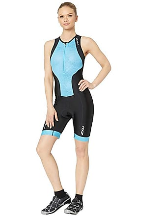 2XU Perform Front Zip Trisuit (Black/Very Berry Mesh) Womens Wetsuits One Piece