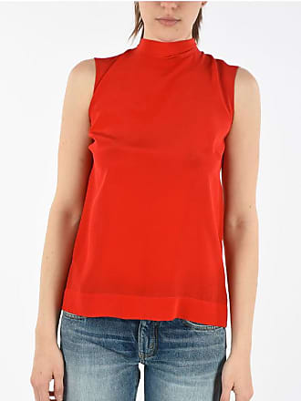 Ermanno Scervino Silk Top with Bow size 40