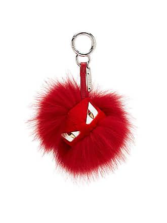 Fendi Chaveiro Bag Bugs - Vermelho