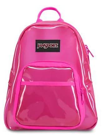 Jansport Half Pint FX Mini Backpacks - Translucent Pink