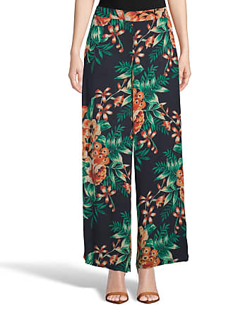 5twelve Floral Woven Wide-Leg Pants