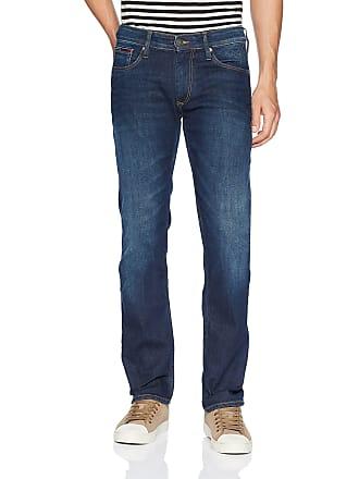 9dba0504 Tommy Hilfiger Mens Original Ryan Straight Fit Jeans, Dark Comfort, 32W x  30L