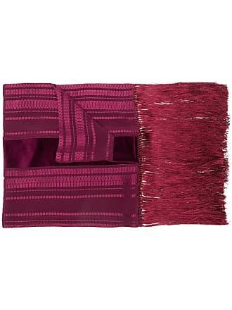 Zeus + Dione frayed scarf - Purple