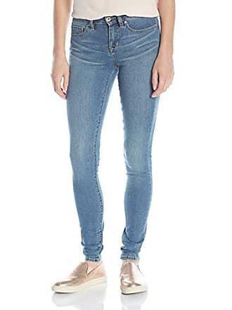 Yummie Tummie Modern Mid Rise Slimming Super Skinny Denim Jeans, Eternal, 24