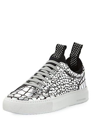90ad73c09d8 P448 Soho Metallic Croco Low-Top Sneaker with Neoprene Sockliner