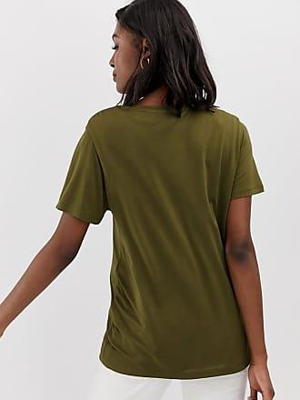 41aa583e40c Asos Maternity ASOS DESIGN Maternity nursing v-neck t-shirt in khaki - Green