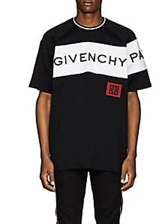 f2790f21a6854 Givenchy Mens Logo-Embroidered Cotton T-Shirt - Black Size XS