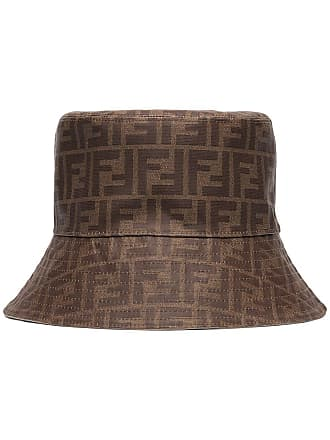 Fendi reversible F-logo bucket hat - Marrom
