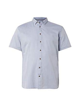 939403b30b571c Tom Tailor Herren 1012196 Freizeithemd Blau (Blue Younder 10972)  XXXXX-Large (Herstellergröße