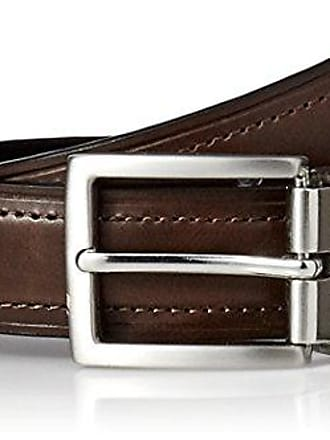 NWT Men/'s Dockers Reversible Leather Belt Tan//Black