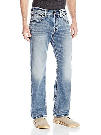 704f8cc3 Silver Jeans Co Silver Jeans Mens Zac Joga Relaxed Fit Straight Leg, Blue,  32x32