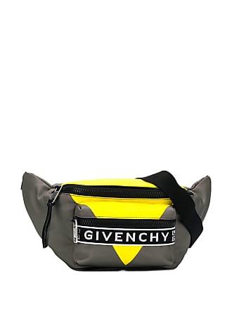 Givenchy logo print belt bag - Grey