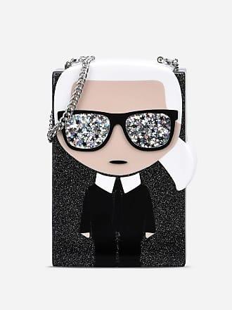 Karl Lagerfeld K/Ikonik Minaudière Clutch