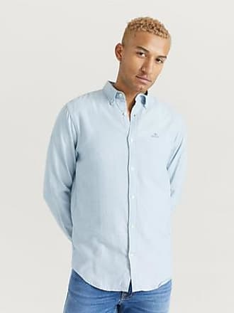 Marine Shirt Reg  Gant  Dress-skjorter - Herreklær er billig
