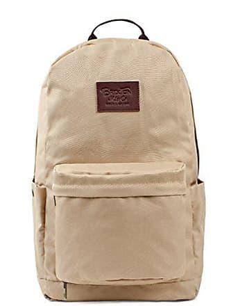 Brixton Mens Fairbanks Nylon Laptop Backpack, khaki