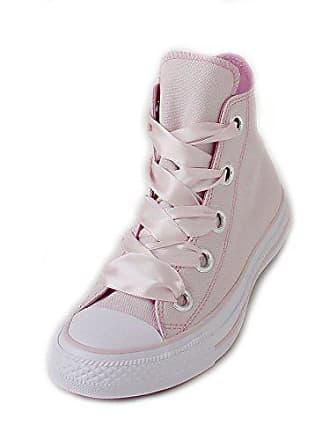 337f933052c7ce Converse Damen Chuck Taylor CTAS Big Eyelets Hi Canvas Fitnessschuhe Pink (Barely  Rose Light