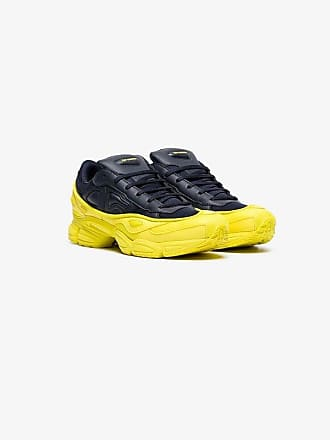 adidas and Simons by yellow navy sneakers Ozweego leather Raf wqzawS