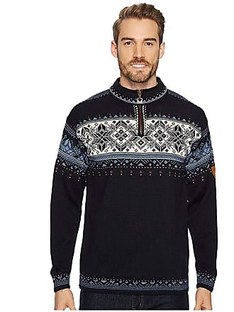 Dale of Norway Blyfjell (C-Navy/China Blue/Off White/Copper) Mens Sweater