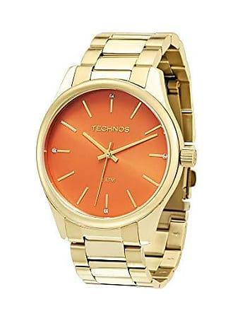 Technos Relógio Technos Feminino Dourado - 2035lre/4l