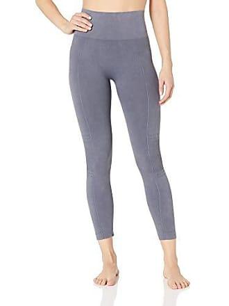 Yummie Tummie Womens Acid Washed Seamless Shapewear Legging, grisaille, M/L