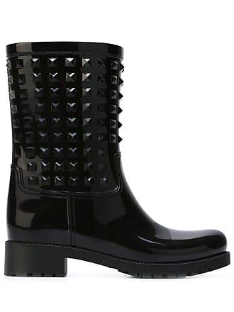 Valentino Rockstud boots , Di Colore Nero