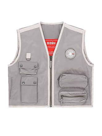 032c Grey Mens Cosmic Workshop Vest - The Webster